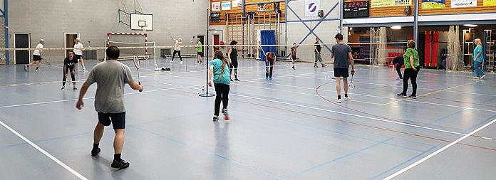 Badmintonnen bij Badminton Abcoude